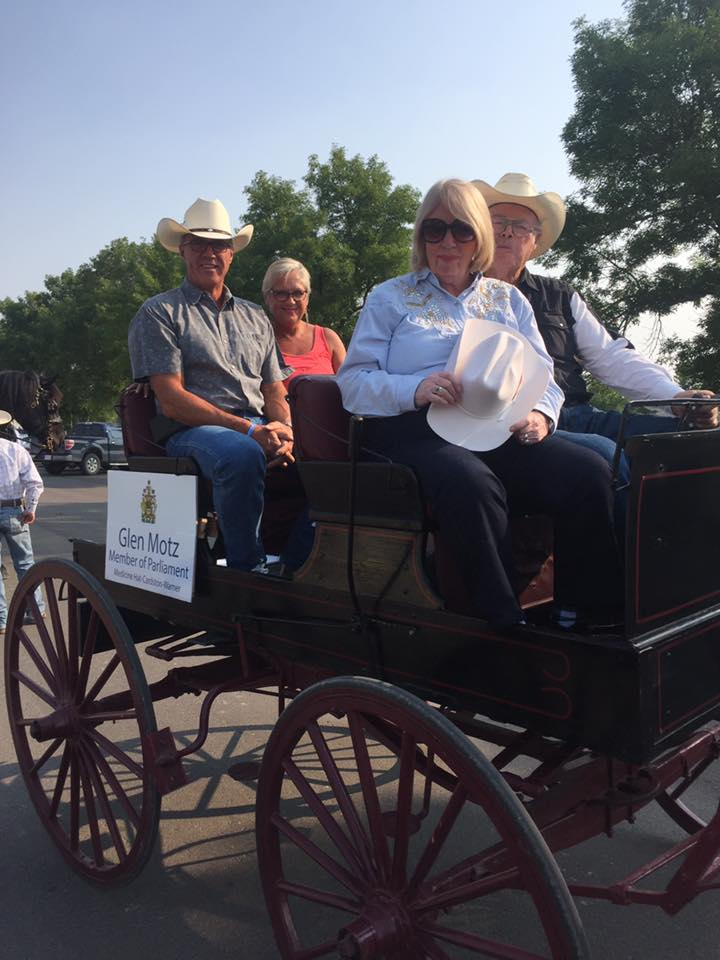 Cardston Heritage Days - 08122017 - In the Carriage